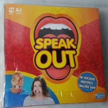 Hasbro Speak Out Game Board Mouthpiece Party Family  Interactive Christm... - $46.74
