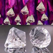 5PCS Acrylic Crystal Bead Pendant Wedding Xmas Patry Chandelier Curtain Decor - $9.90