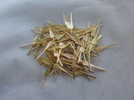 500 Arrow Connector Pins 45mm Gold Chandelier Parts Lamp Crystal Prism Bead - $23.00