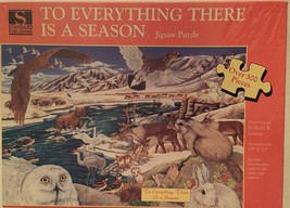 """500 Piece Jigsaw Puzzle """"To Everything There Is A Season"""" [Brand New] - $47.31"""