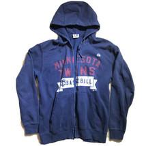 Majestic Minnesota Twins Hoodie Sweatshirt MLB Baseball Mens Medium NEED... - $9.95