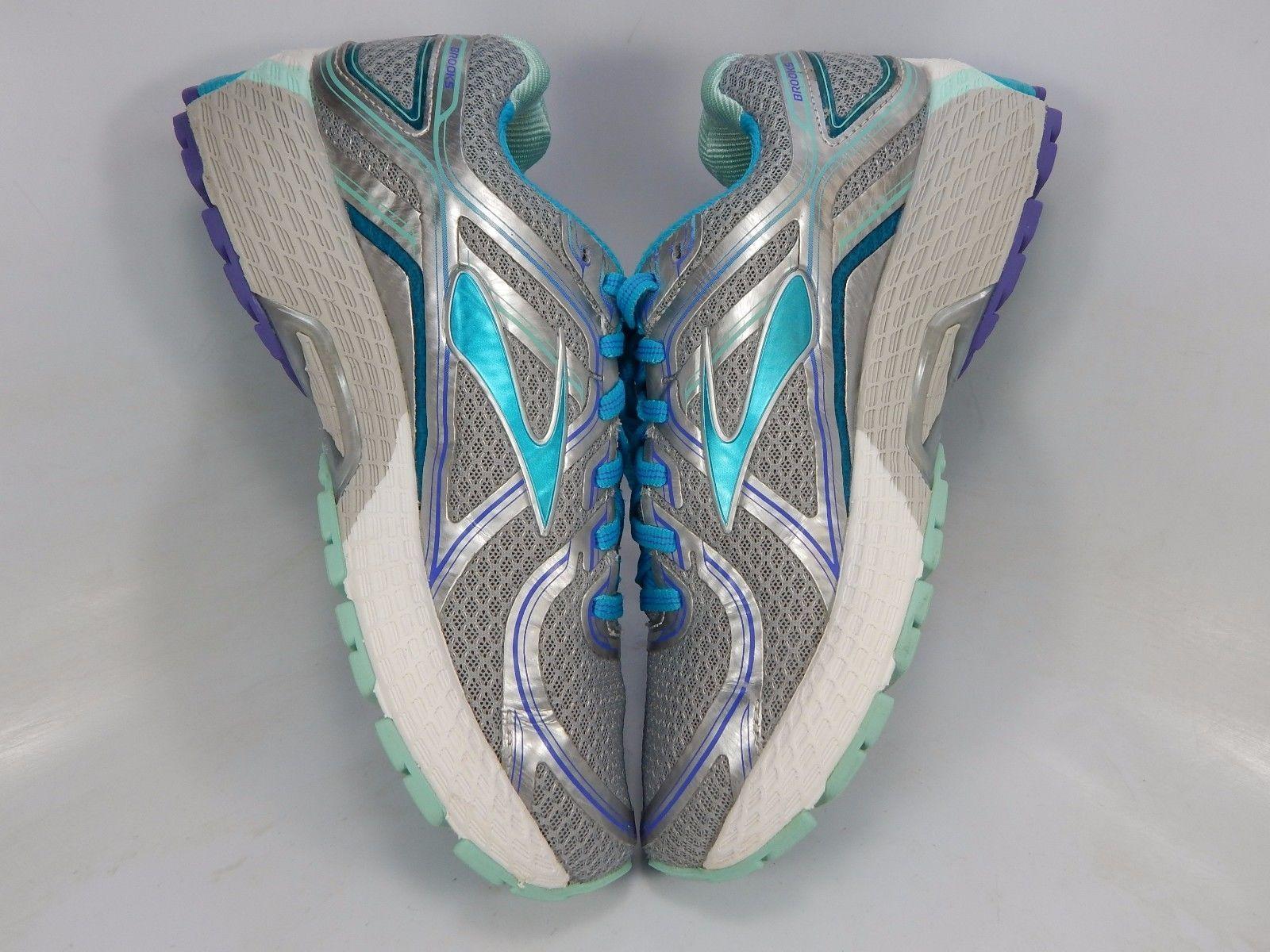 Brooks GTS 16 Women's Running Shoe Size US 7.5 M (B) EU 38.5 Silver 1202031B170
