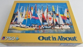 "750 Piece Jigsaw Puzzle ""Sailboats, Virginia Beach"" [Brand New] - $24.74"