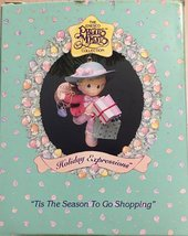 """Tis The Season To Go Shopping"" Precious Moments Ornament [Brand New] - $40.59"