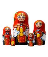 """Milkmaid Nesting Doll - 5.5"""" w/ 5 Pieces - $40.00"""