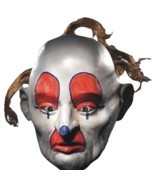 Batman - Joker Henchman Clown Mask - DOPEY - Adult Dark Knight Bank Robb... - £10.39 GBP