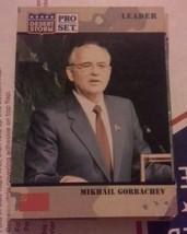 Mikail Gorbachev Desert Storm 1991  Pro Set Card - $9.49