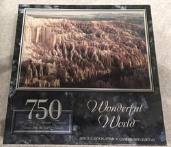 "750 Piece Puzzle ""Bryce Canyon, Utah"" Bruce, Utah [Brand New] - $27.71"
