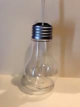 Set of 4 - Silver Light Bulb Cup w/ Straw 16oz - $31.99