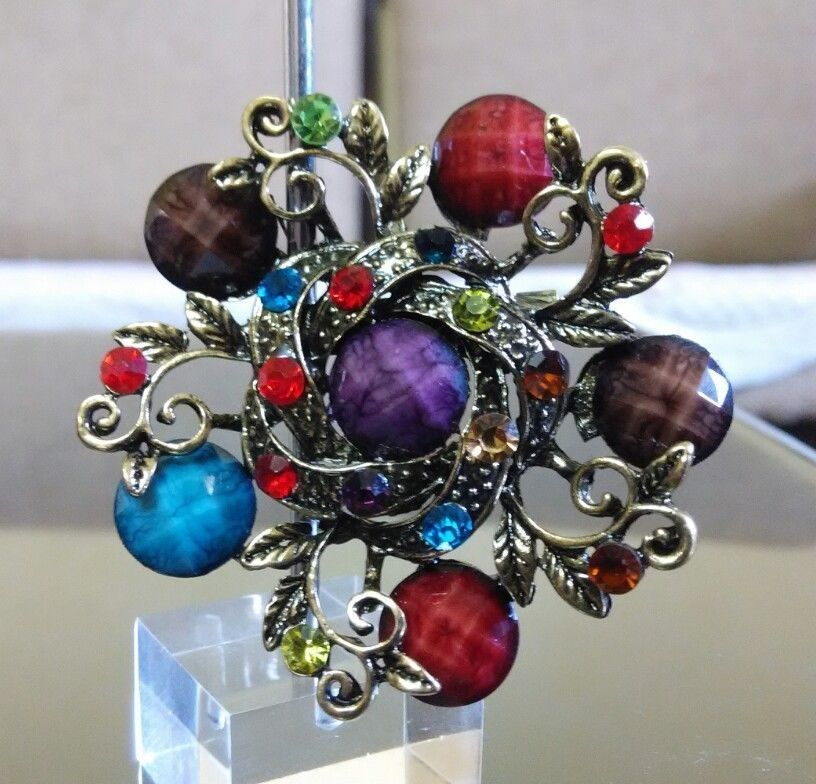 Primary image for Stylish Multicolor Wedding Party Fashion Brooch/Pin @EBay CSJ