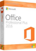 Genuine MICROSOFT OFFICE PROFESSIONAL PLUS 2016... - $160.00