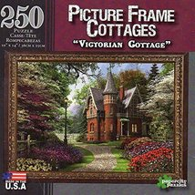 """250 Piece Picture Frame Puzzle """"Victorian Cottage"""" [Brand New] - $15.61"""