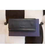 Authentic PRADA Black Calf Leather Key Holder - $65.00