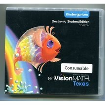 enVisionMath Texas Electronic Student Edition  Kindergarten [CD-ROM ~ Brand New] - $7.00
