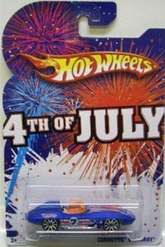 Primary image for Hot Wheels 2009 4th of July Corvette Stingray [Brand New]
