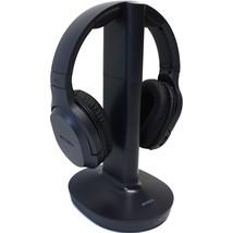 Sony MDR-RF995RK Wireless RF Headphone System - On-ear - Black - ₹7,229.58 INR