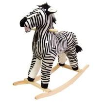 Happy Trails Zebra Plush Rocking Animal - $55.13