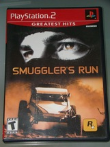 Playstation 2 - SMUGGLER'S RUN (Complete with Instructions) - $8.00