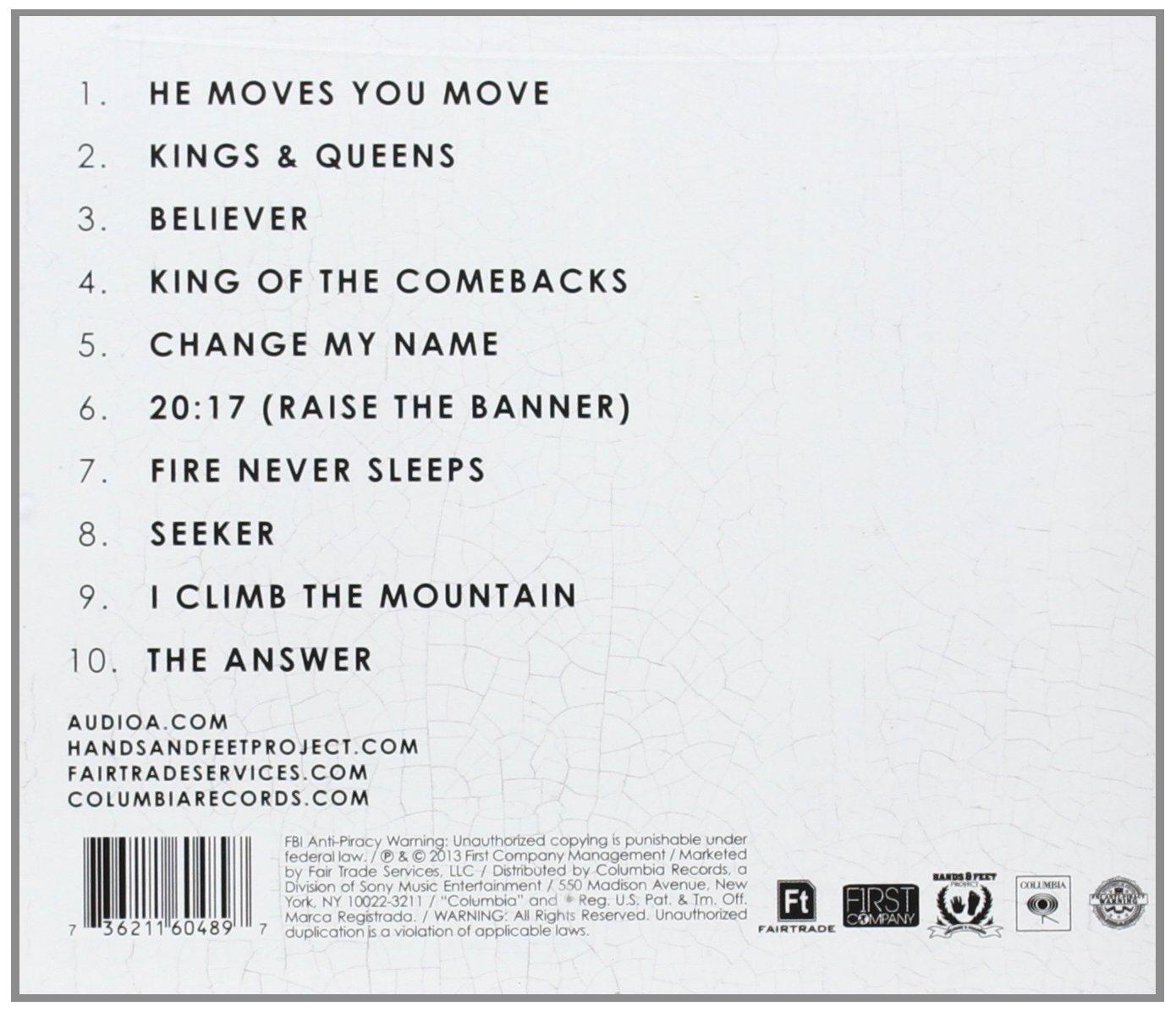 Kings & Queens [Audio CD ~ Brand New] Audio Adrenaline
