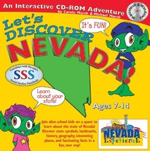 Let's Discover Nevada [Interactive CD-ROM ~ Brand New] Ages 7-14 - $239.55
