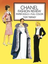 Chanel Fashion Review Paper Dolls (Dover Paper Dolls) [Paperback] [May 0... - $12.85