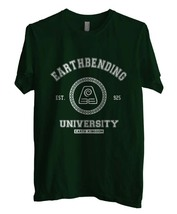 Earthbending University Earth Kingdom The Legend Of Kora Men Tee S-3XL FOREST - $18.00
