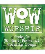 Wow: Worship Green [Audio CD] Various Artists - $6.88