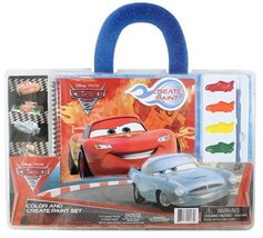 Disney/Pixar Cars 2: Color and Create Paint Set [Brand New] - $44.65