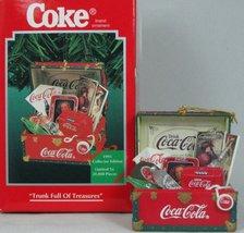 "Enesco Coca-Cola Ornament Series ""Trunk Full Of Treasure""  [Brand New] - $22.75"