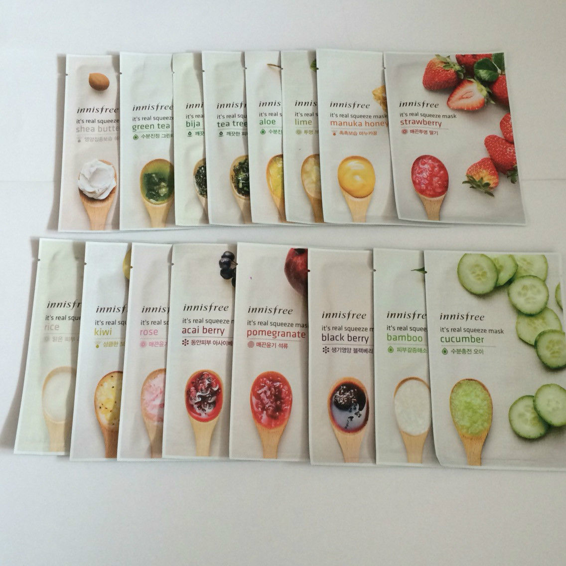 innisfree It's Real Squeeze Mask Series 20ml and 50 similar items. S l1600