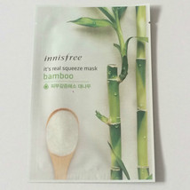 Real Bamboo Squeeze Mask Sheet Keeping Moisturized and Clean 20ml X 1ea - $2.97