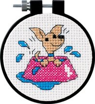 """Dimensions Needlecrafts Counted Cross Stitch """"Perky Puppy"""" [Brand New] - $6.90"""