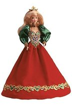 Holiday Jewel Porcelain Barbie Doll - $140.58