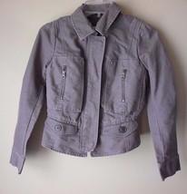 Light brown Cotton ANN TAYLOR LOFT long sleeve Jacket size (OP) XS Petite - $24.45