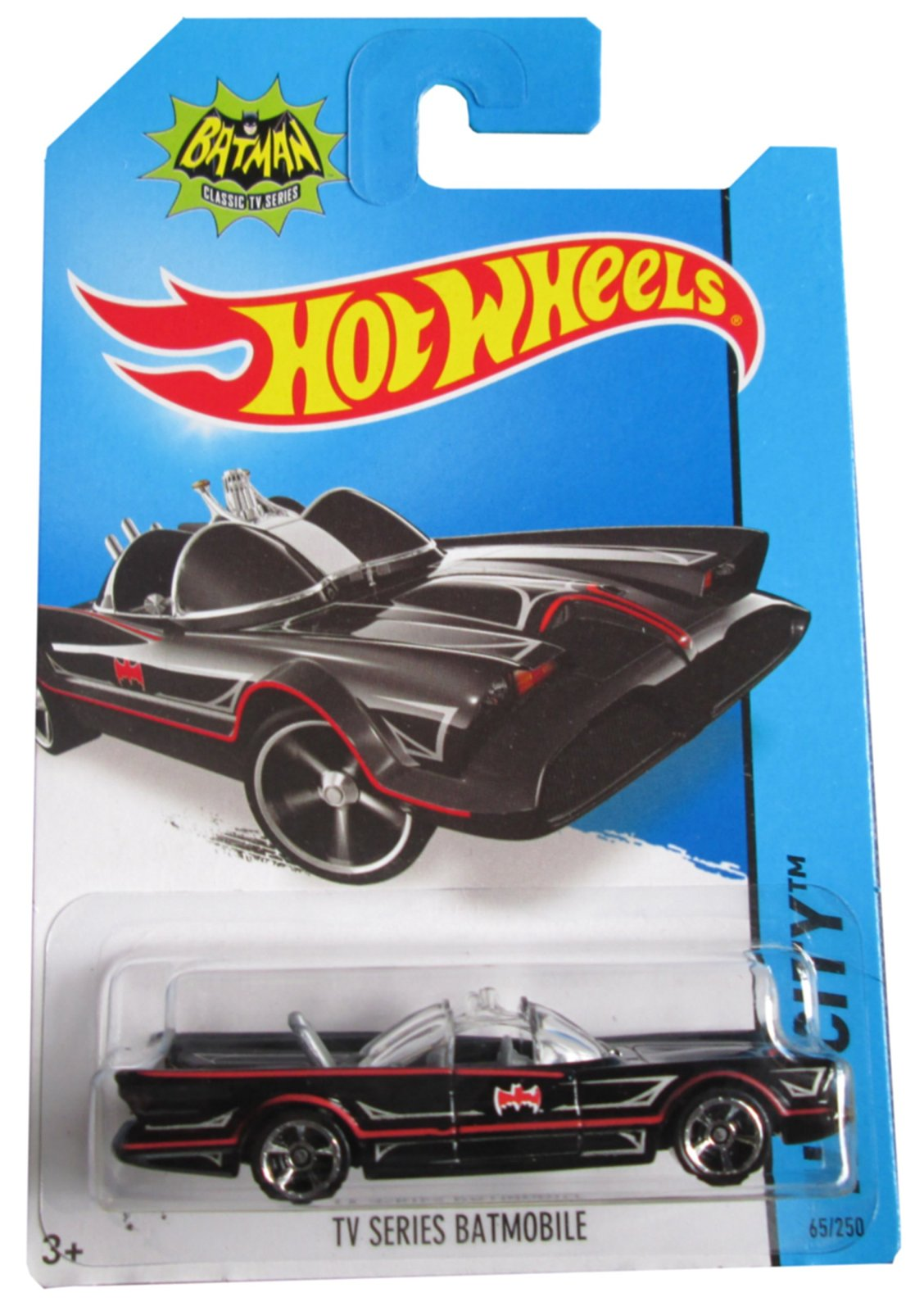 Primary image for 2014 Hot Wheels Hw City 65/250 - TV Series Batmobile [Brand New]