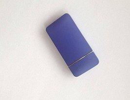 Matte Surface Windproof Lighter - One Lighter (Blue) image 2