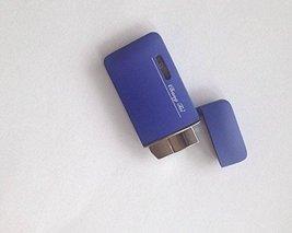 Matte Surface Windproof Lighter - One Lighter (Blue) image 3