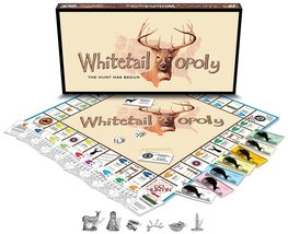 WhiteTail-Opoly The Hunt Has Begin [Board Game] Monopoly Style Game - $47.85