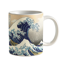 The Great Wave off Kanagawa Coffee Mug Ceramic Hot and Cold Drinkware MC... - $17.99