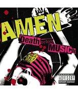 Death Before Musick [Audio CD] Amen - $2.93