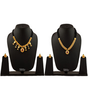 Womens Trendz Combo Pack of Two Traditional, Ethnic and Antique 24K Gold Plated  - $49.00