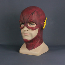 Inspired by The Flash Barry Allen Full Face Mask Helmet Hood for Cosplay - £30.36 GBP