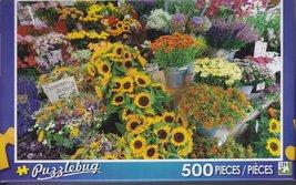 "500 Piece Puzzle ""Flower Stall, Bavaria, Germany"" [Brand New] - $14.86"