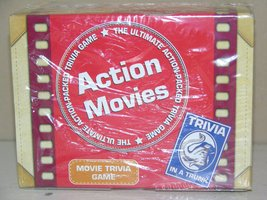 Trivia in a Trunk Action Movies Trivia Game [Game Complete ~ Like New] - $13.50