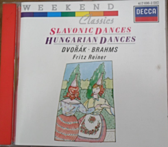 Dvorak & Brahms: Slavonic Dances & Hungarian Dances [Audio CD] BRAHMS, J... - $8.79