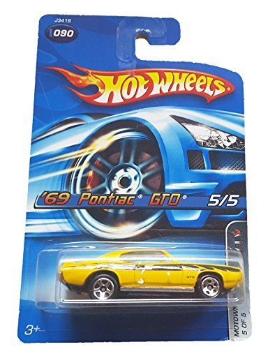 Primary image for Hot Wheels - 2006 Motown Metal 5/5 - #090 - '69 Pontiac GTO [Brand New]