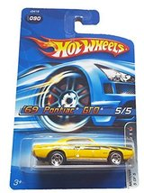 Hot Wheels - 2006 Motown Metal 5/5 - #090 - '69 Pontiac GTO [Brand New] - $6.41