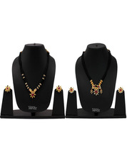 Womens Trendz Combo Pack of Two Traditional, Ethnic and Antique 24K Gold Plated  - $50.00
