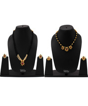 Womens Trendz Combo Pack of Two Traditional, Ethnic and Antique 24K Gold Plated  - $51.00
