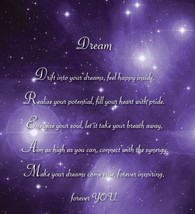 Dream - Christmas Inspirational  Luxury Quality Greetings Card, 5 x 7 in... - $4.94